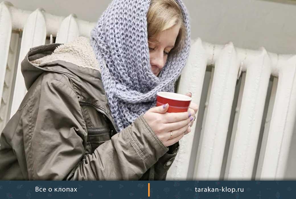 Воздействие морозом
